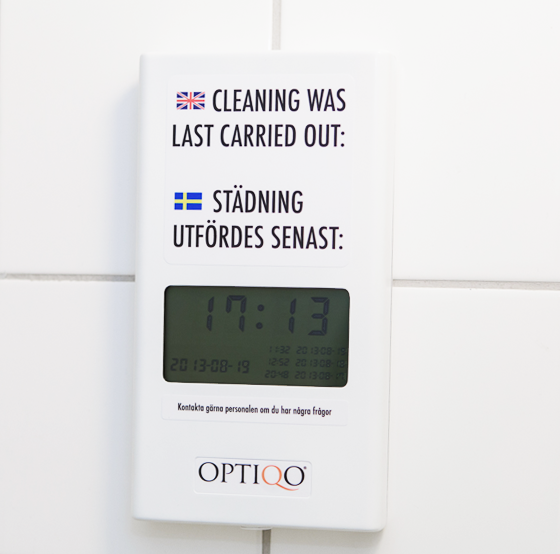 Optiqo Hygiene Display